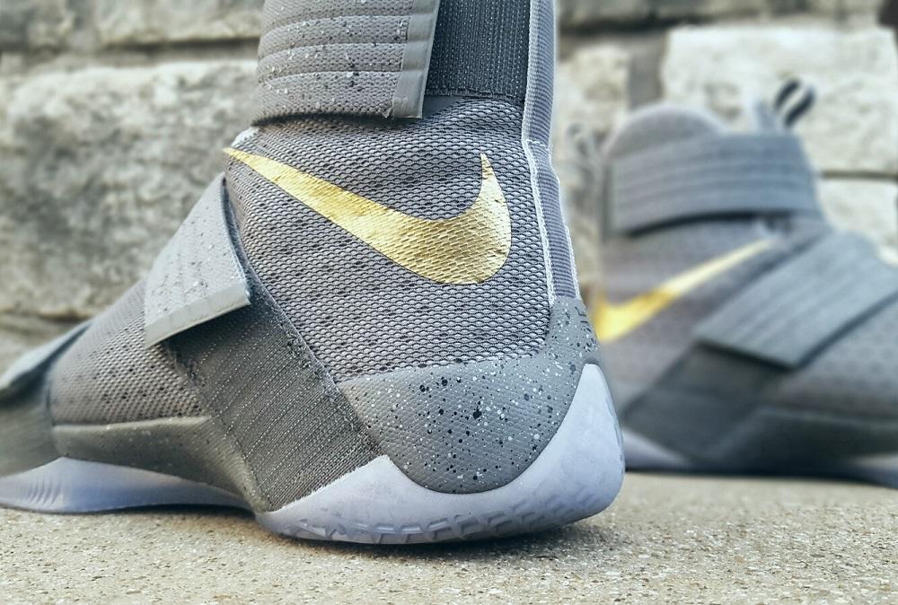 Nike LeBron Soldier X FSG PE Battle Grey 3
