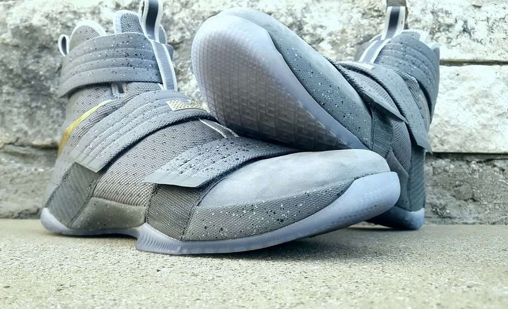 Nike LeBron Soldier X FSG PE Battle Grey 5