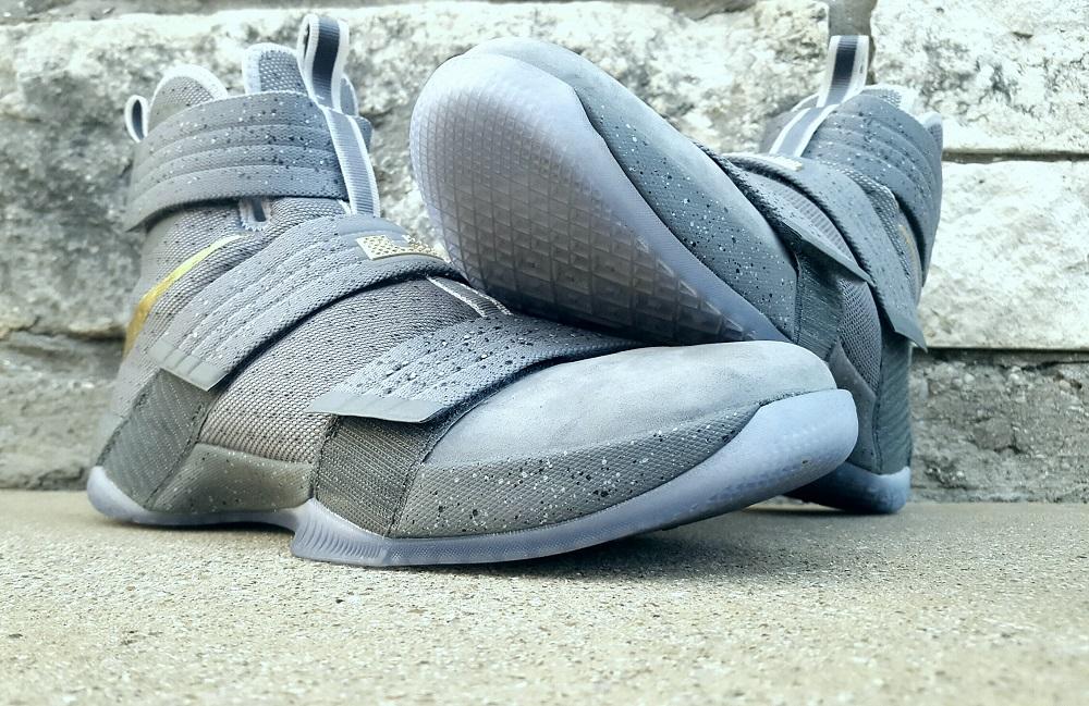Nike LeBron Soldier X FSG PE Battle Grey 5