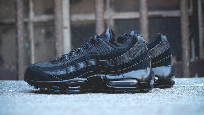 nike air max 95 black black 5