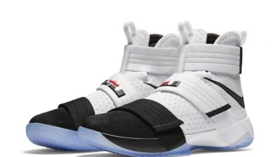 nike lebron soldier 10 SFG black toe 1