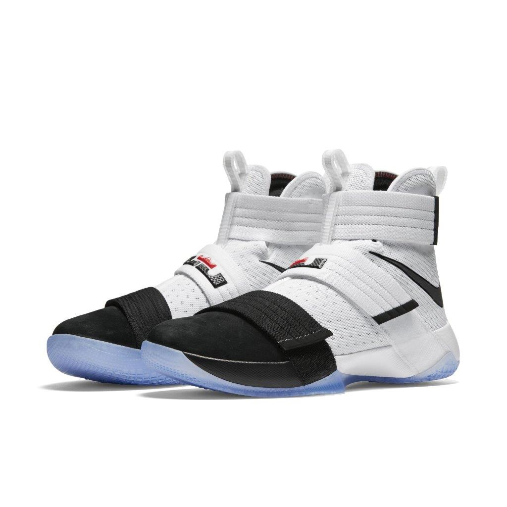 premium selection ad6a4 f19c2 The Nike Zoom LeBron Soldier 10 'Black Toe' is Almost Here ...