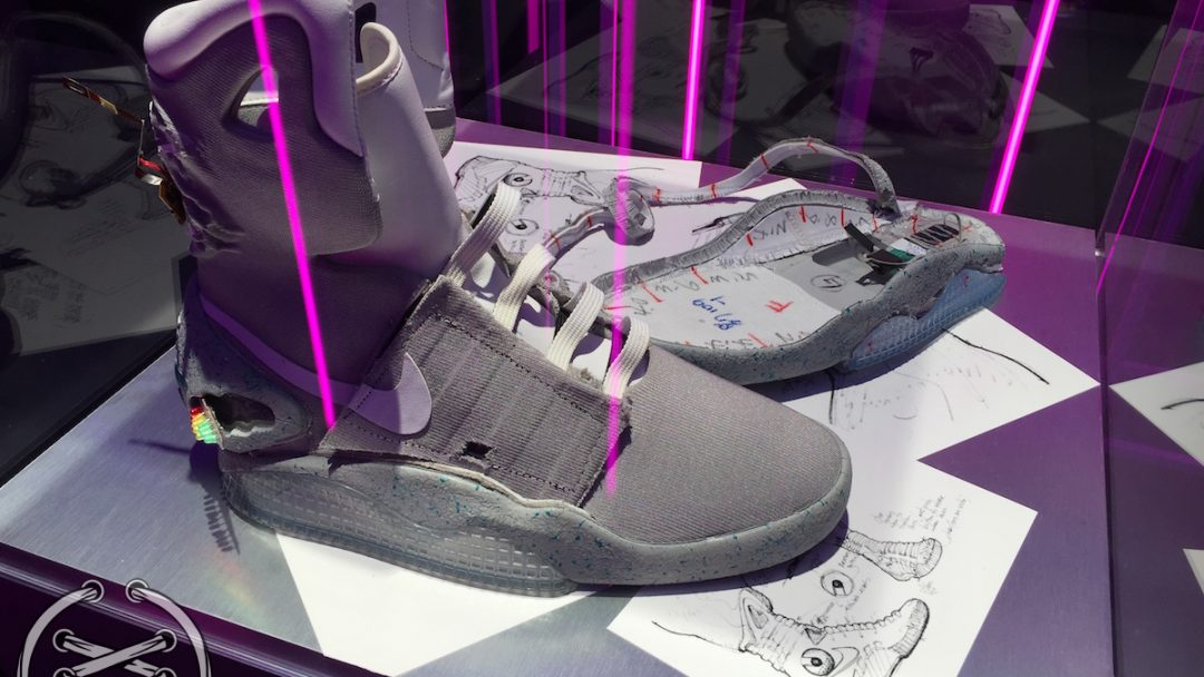 Marty McFly Costume - Back to the Future - Marty McFly Cosplay |Nike Mag Outfit