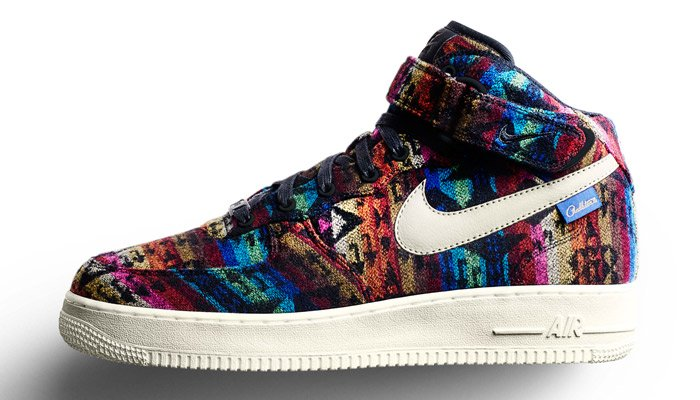 Coziness Returns with the Pendleton Wool Option on Nike iD - The Nike Air  Force 1 ... 2d70a8374