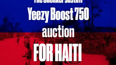 sneakersnstuff auction yeezy boost 750 haiti 1