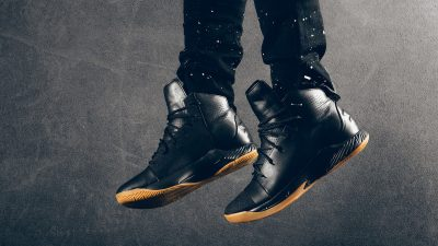 Under Armour Primo Mid Leather black gum 3