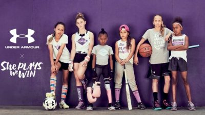under armour x she plays we win partnership 1