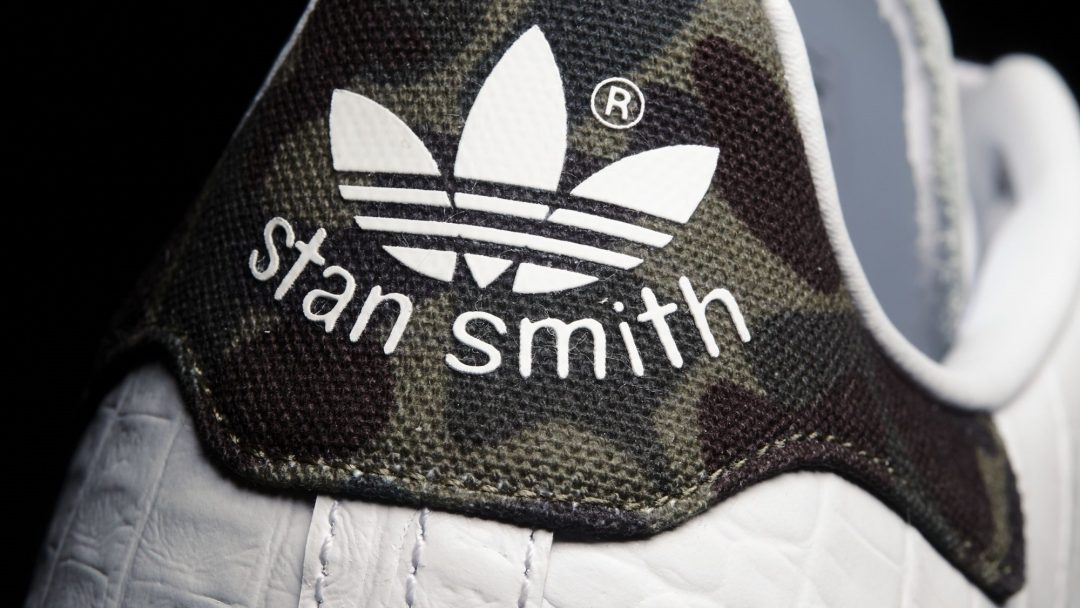 Adidas Originals Stan Smith Croc - Heel
