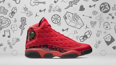 "Air Jordan 13 Retro ""What Is Love"" Series red 1"