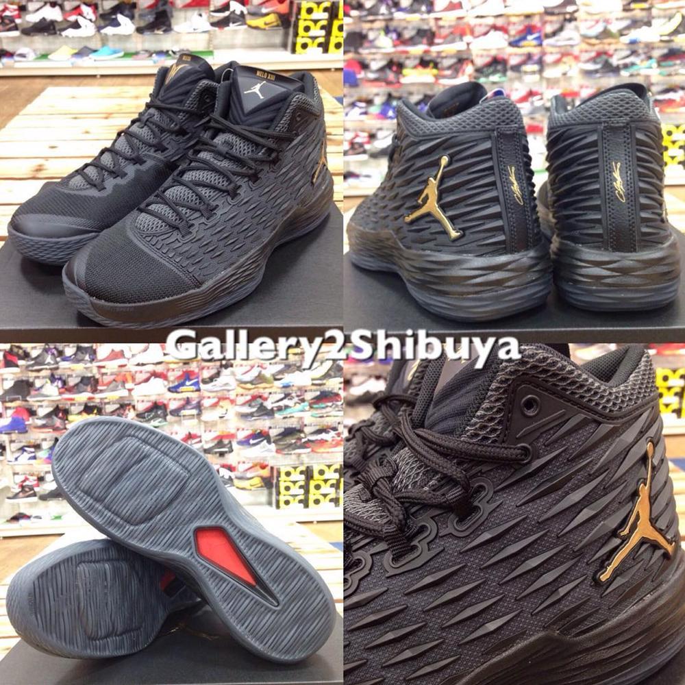 4ba73767591ebd jordan melo m13 cheap black white and grey shoes
