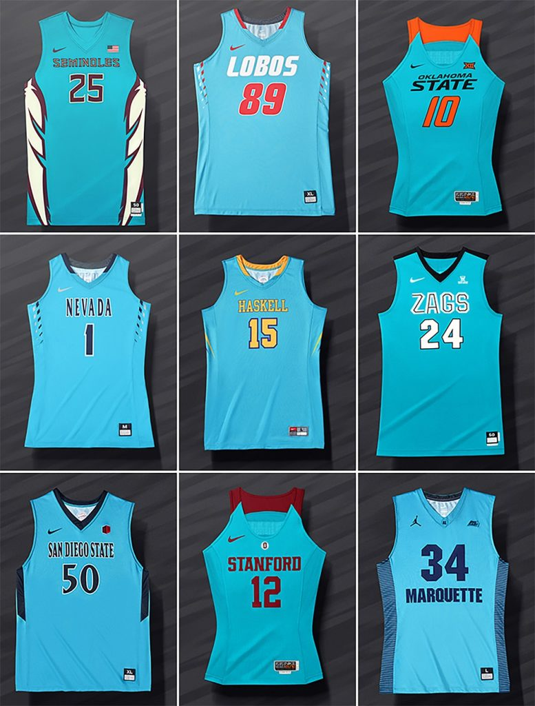Nike Outfits Nine Schools in N7 Jerseys for Native ...