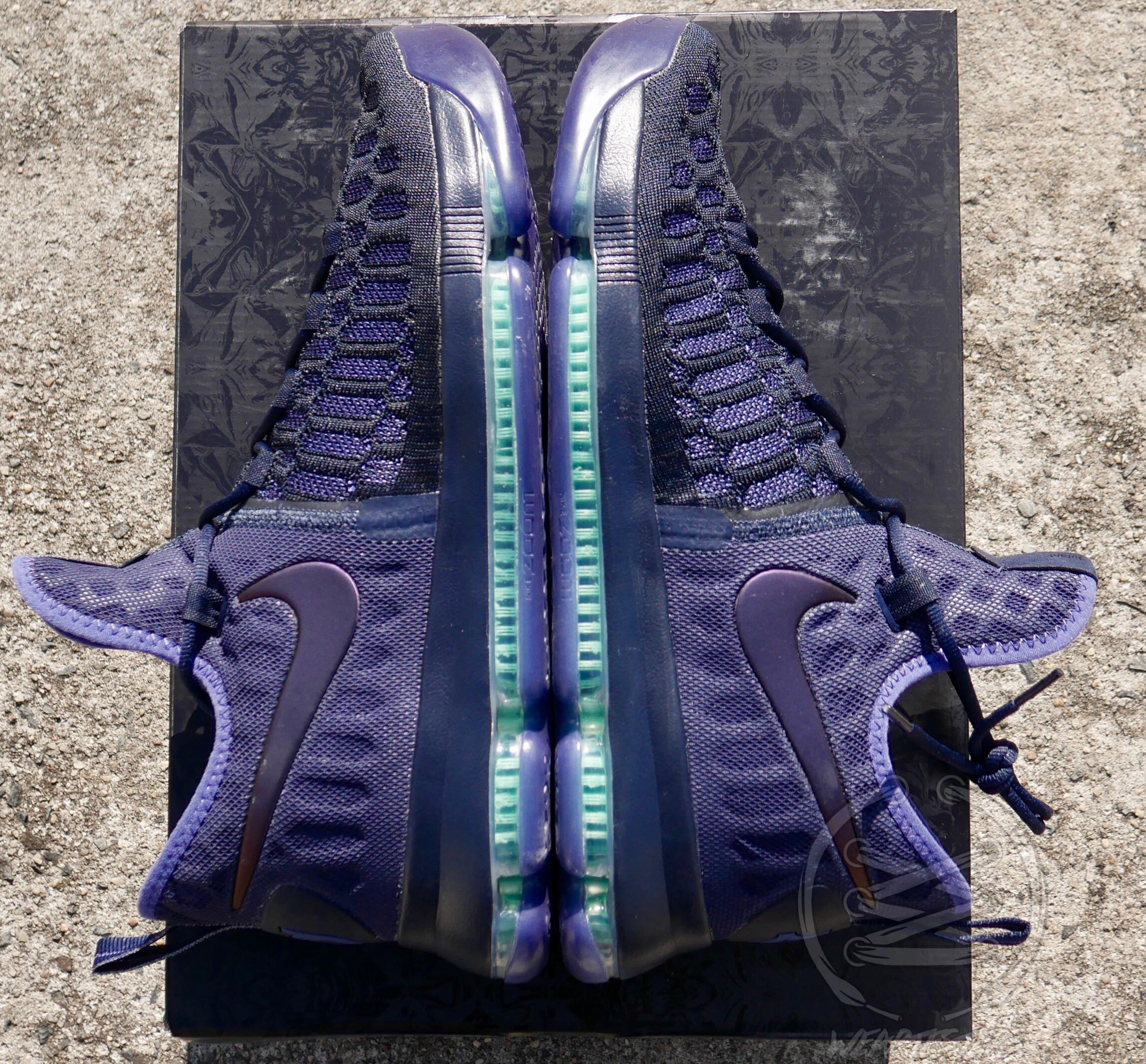 nike kd 9 blue purple