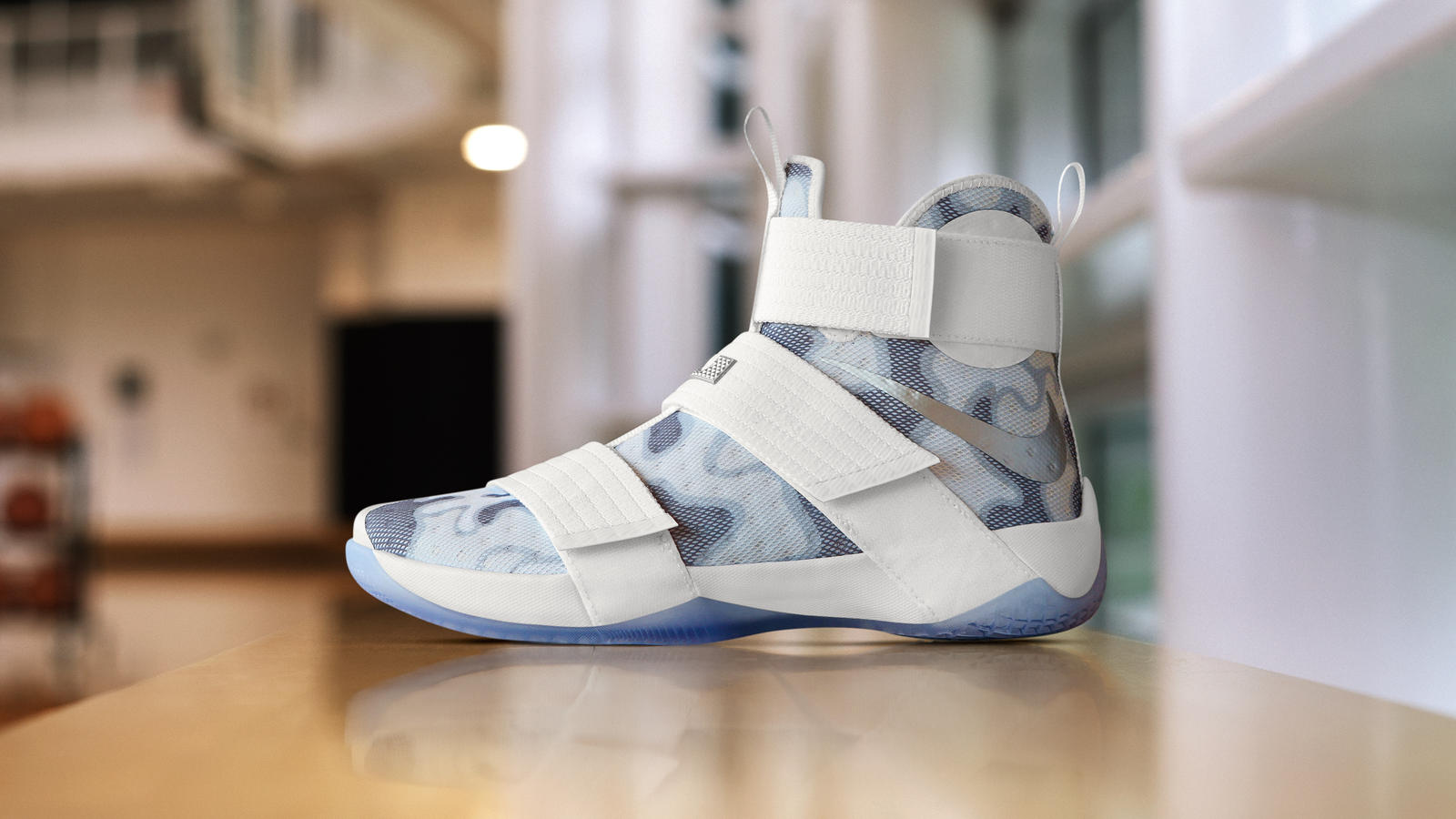 The Nike Zoom LeBron Soldier 10 'White
