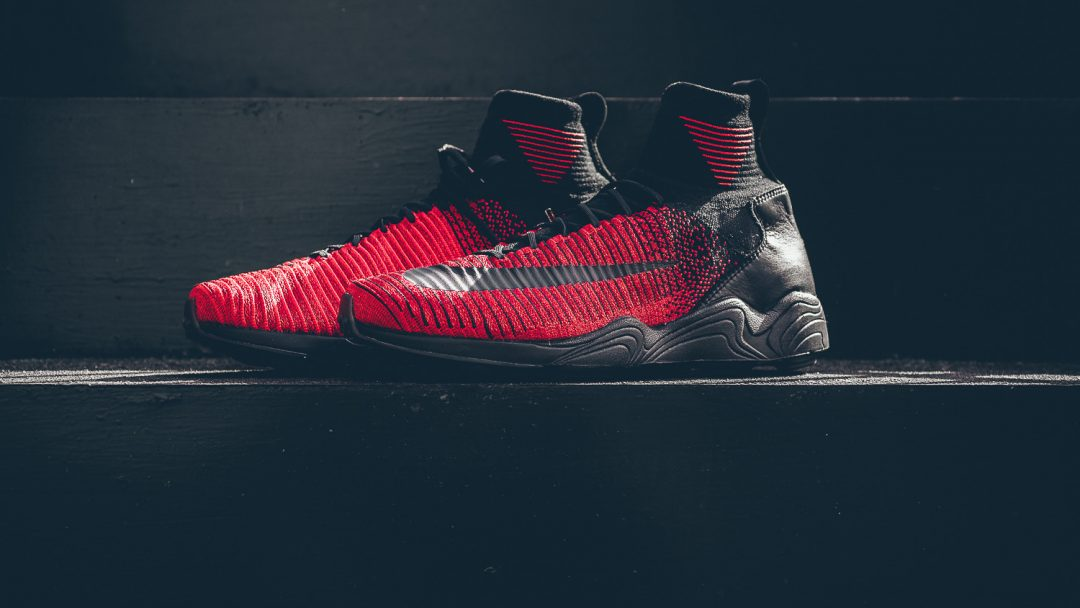 Nike Zoom Mercurial XI Flyknit red-black 8