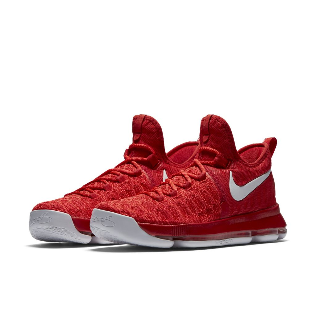 Red And White Kd Shoes