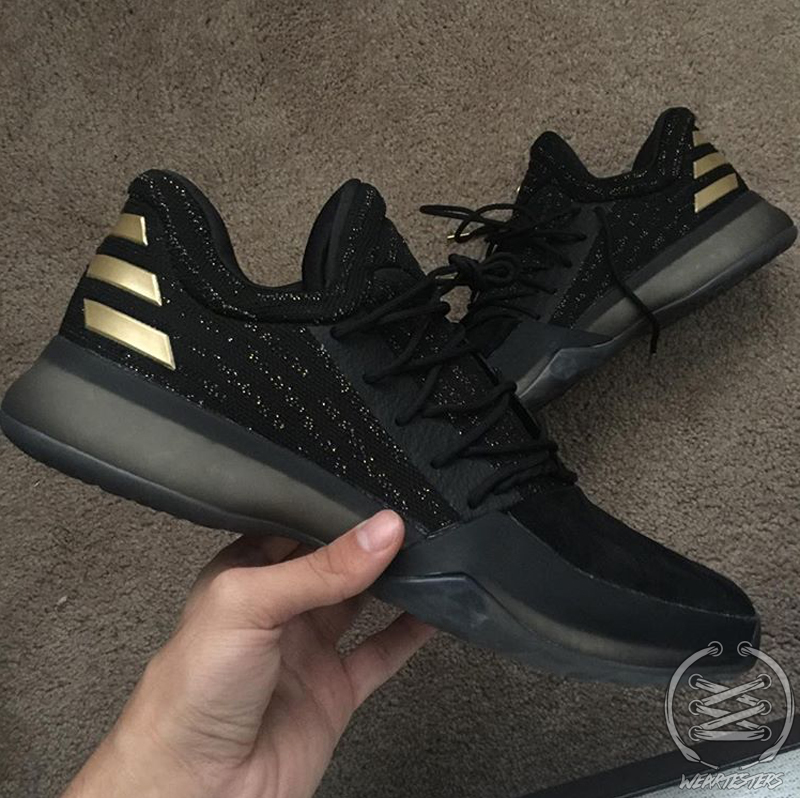 Adidas Harden 1 Gold