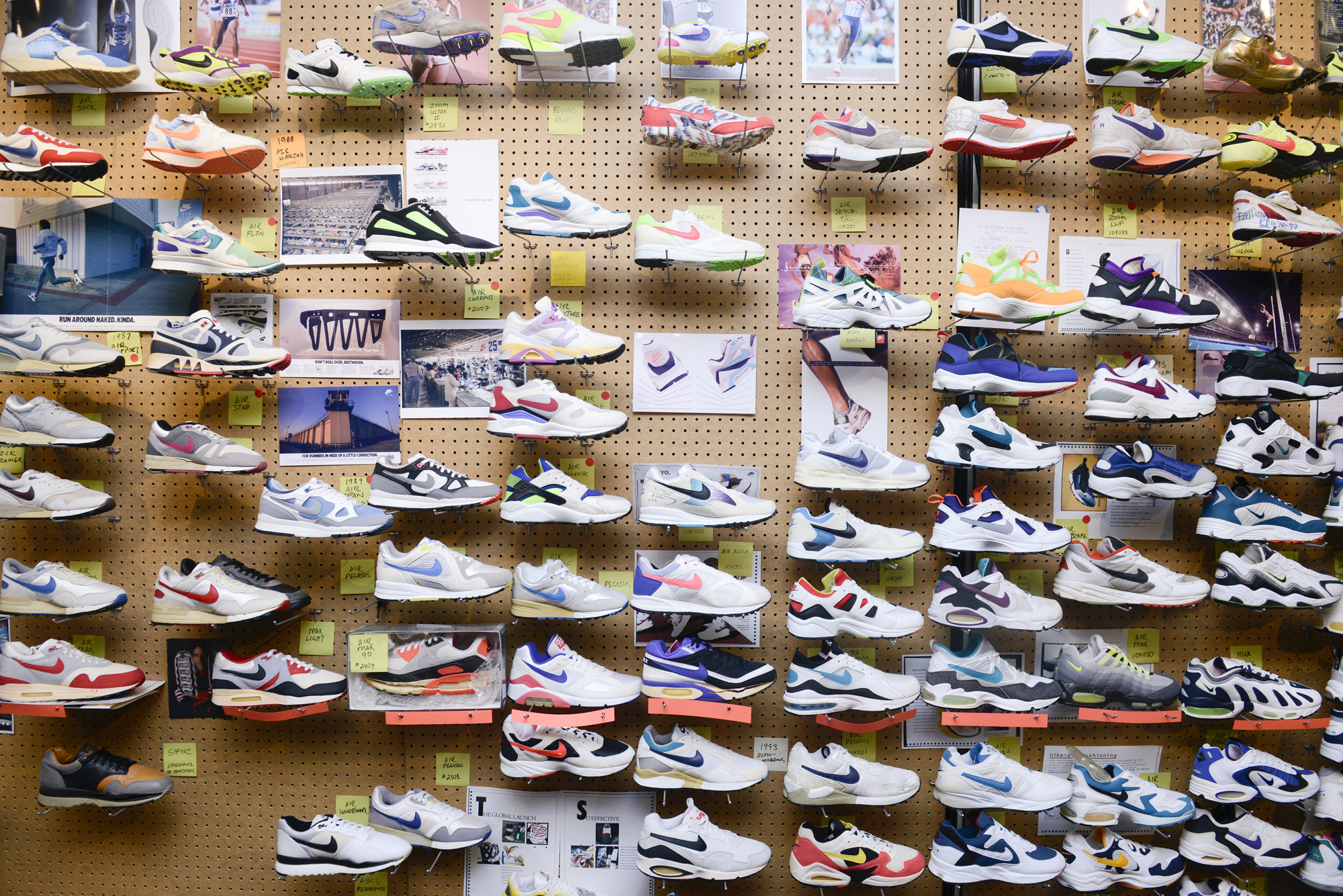Coveteur Gets a Look Inside the Nike Archives WearTesters