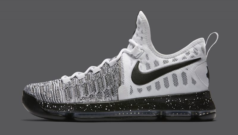 official photos 6b941 9967f ... nike kd 9 black-white .