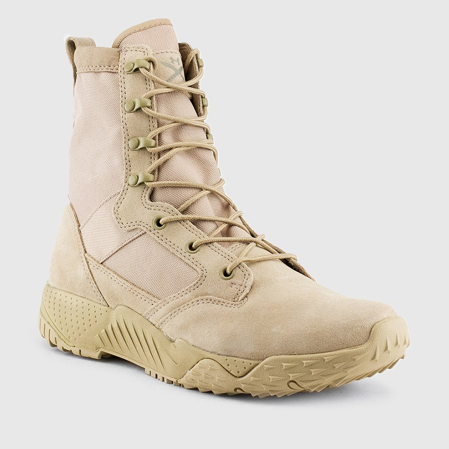 tan under armour boots