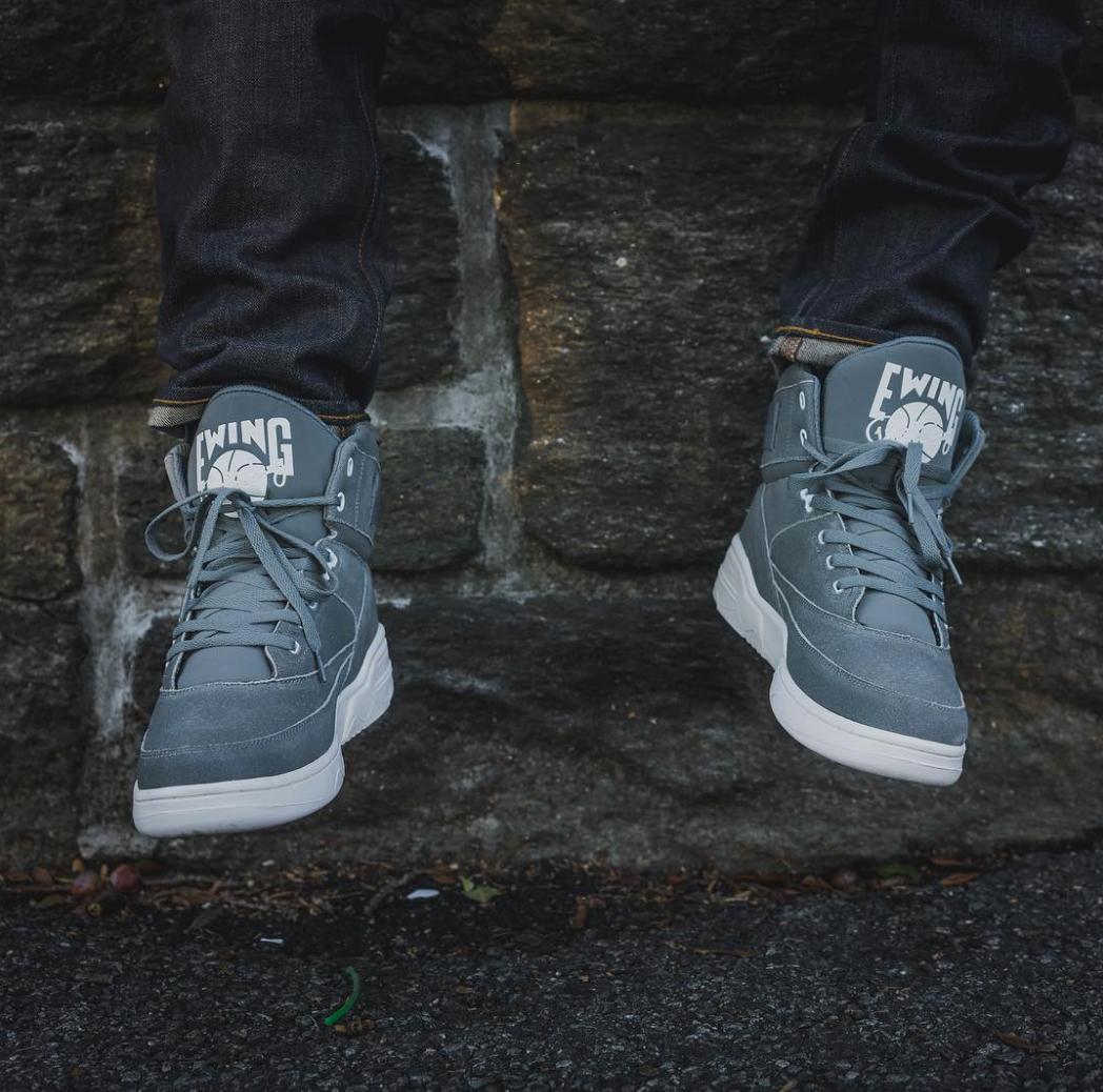 ewing 33 hi grey/white november collection 0
