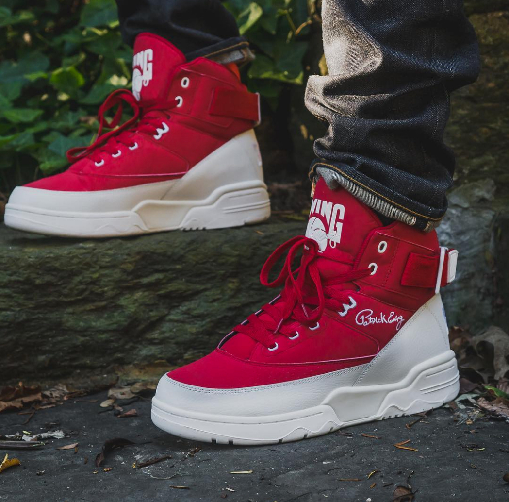 ewing 33 hi red white november collection 3