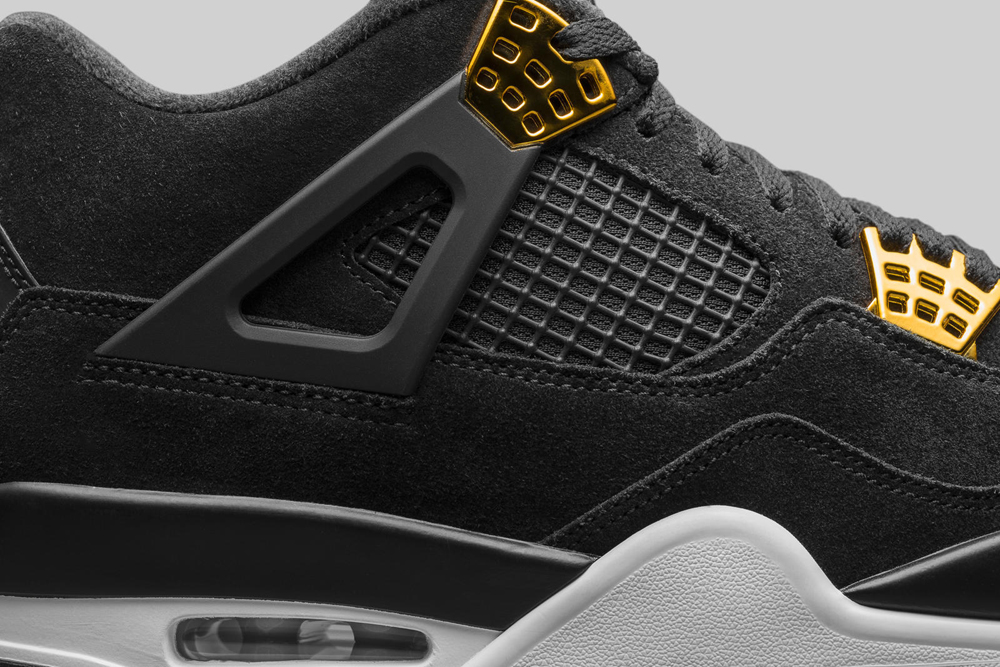 bf9bc58201877b ... ireland air jordan 4 retro black gold 4 . ab74f 9c59f