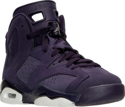 super popular d0388 0953d The Air Jordan 6 Retro Gets 'Purple Dynasty' For the Kids ...