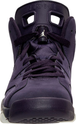 NIKE AIR JORDAN 6 RETRO PURPLE DYNASTY - Front