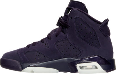 NIKE AIR JORDAN 6 RETRO PURPLE DYNASTY - Medial