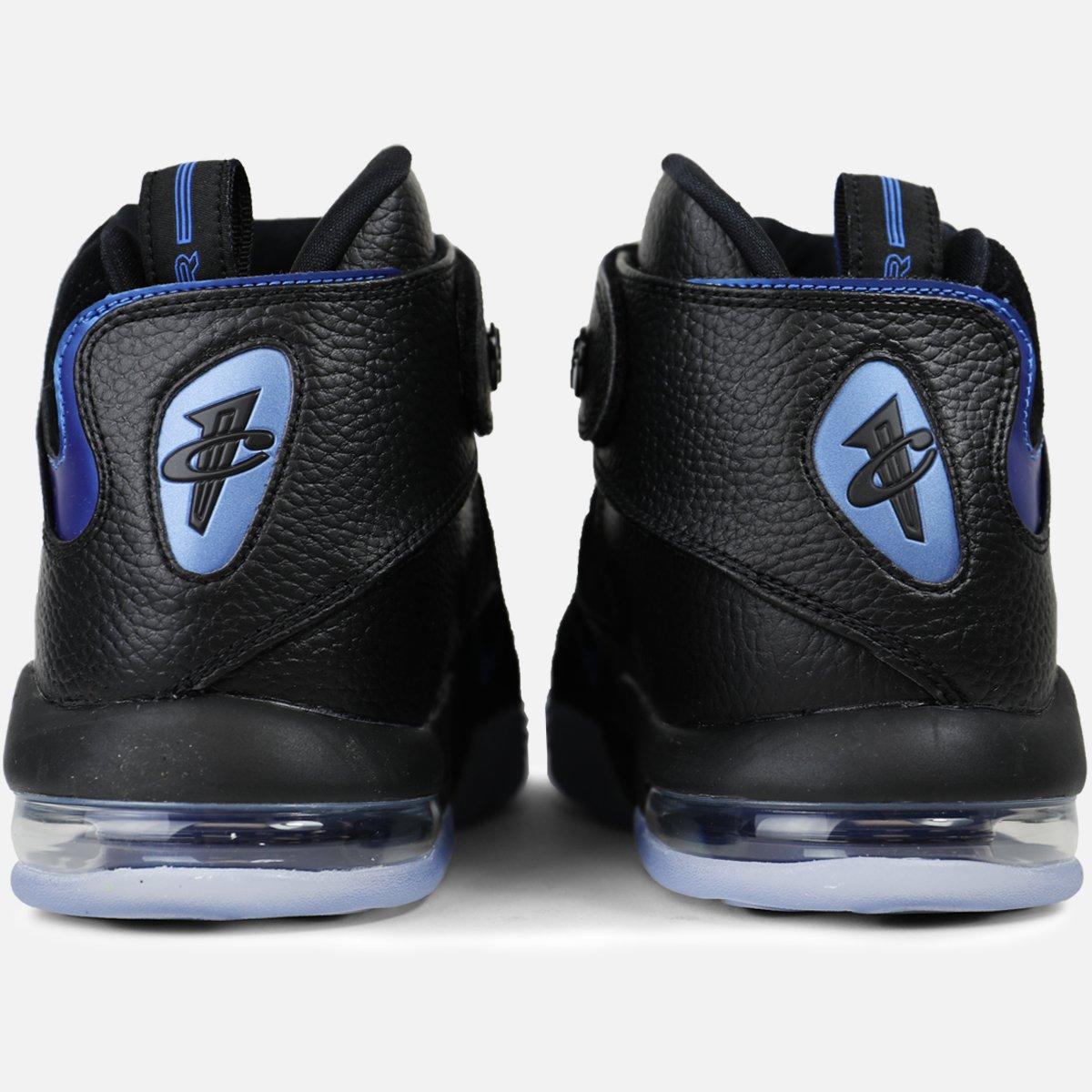 Nike Air Penny IV Black-Dark Neon Royal 3
