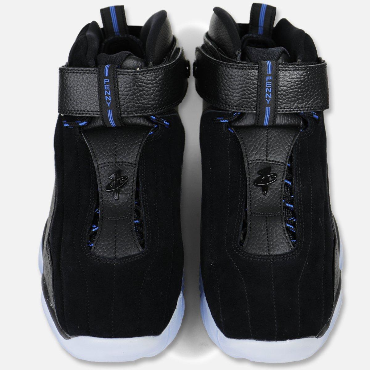 Nike Air Penny IV Black-Dark Neon Royal 4