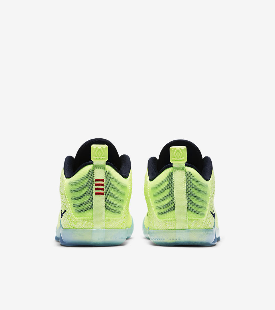 kobe 10 elite low green christmas merry