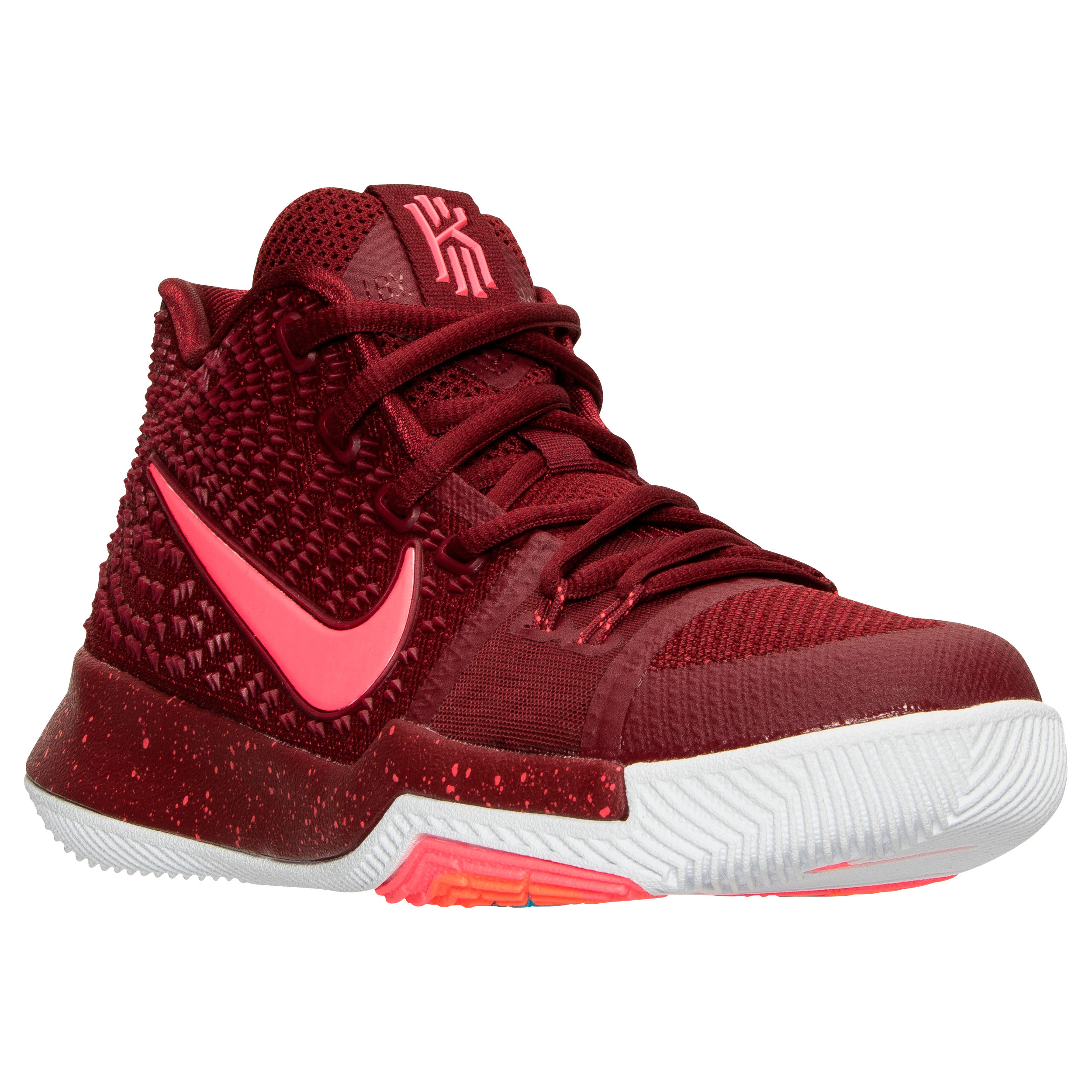 c059d0649adc ... top quality a look at the upcoming team red nike kyrie 3 gs weartester  . c4c96