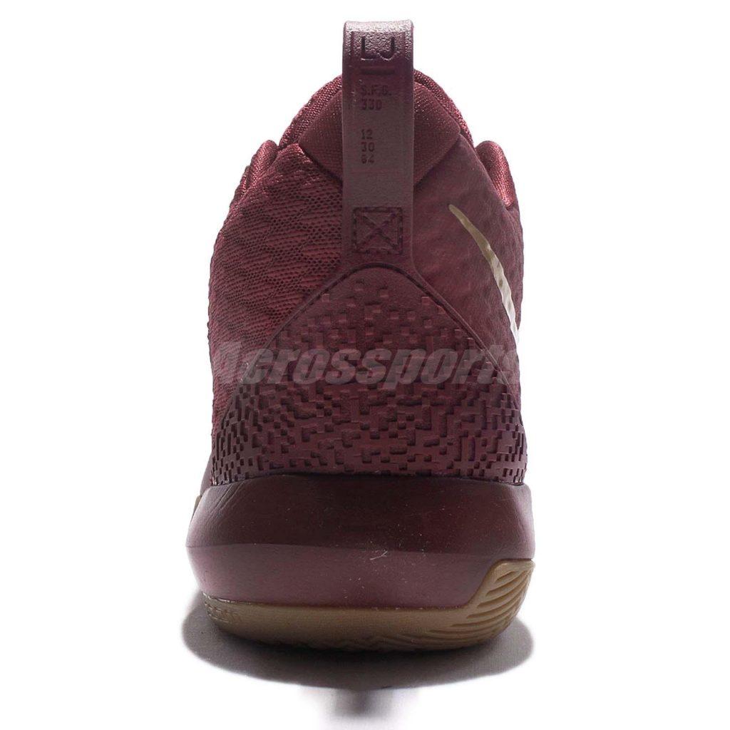 Nike Lebron Ambassador 9 - Team red - Heel