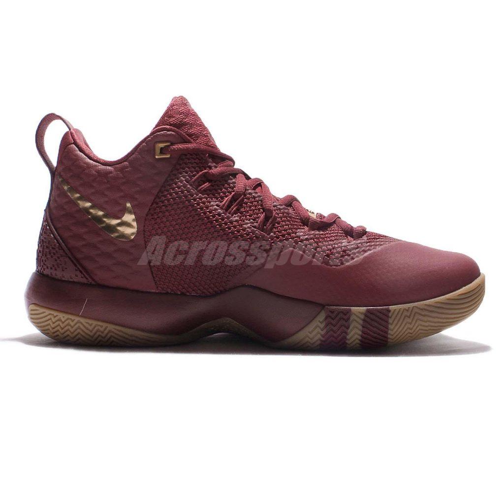 Nike Lebron Ambassador 9 - Team red - Medial