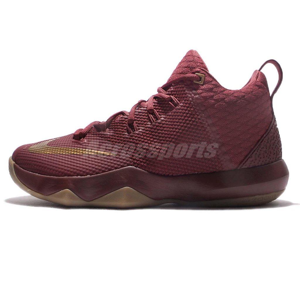 ... Nike Lebron Ambassador 9 - Team red - Side ...