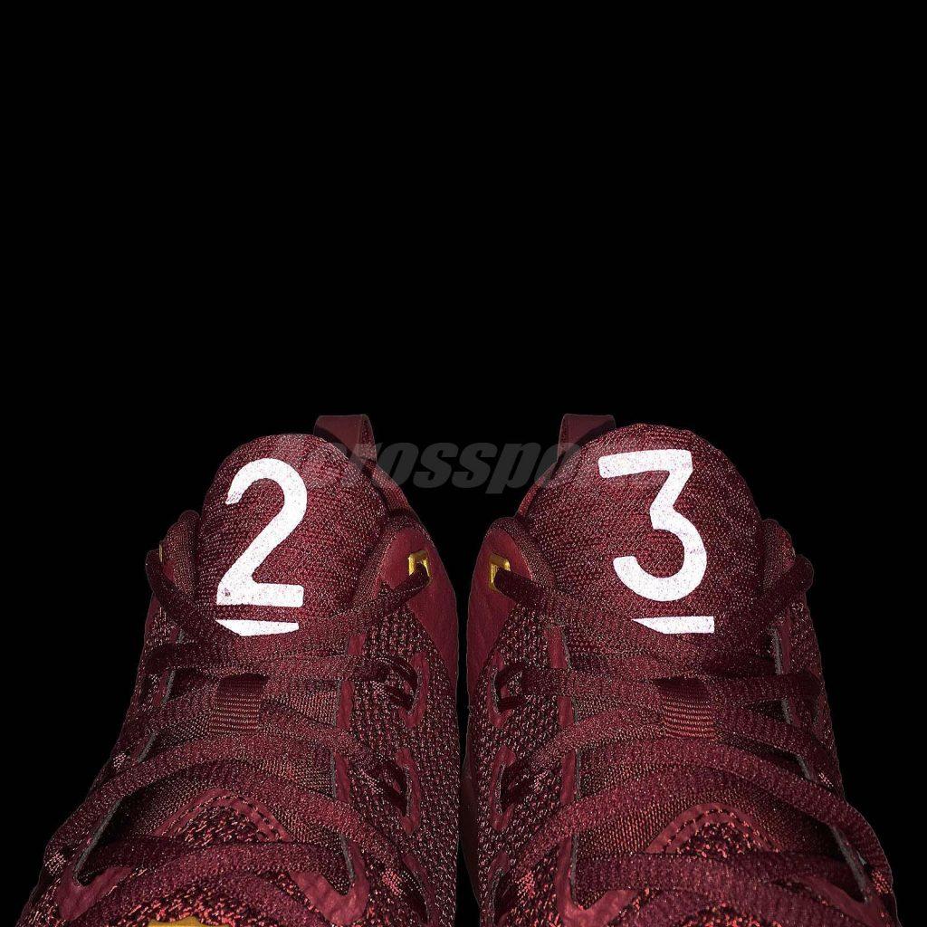 Nike Lebron Ambassador 9 - Team red - Tongue