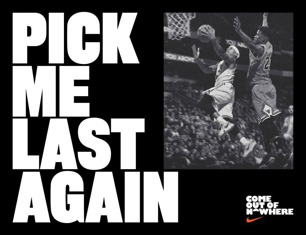 Nike - Isiah Thomas - Pick me last Campaign