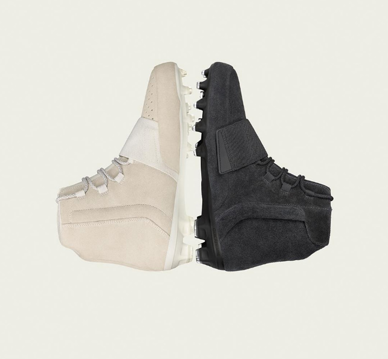 buy popular 220be 0dd65 adidas Football Unveils the Yeezy 750 Cleat in Black ...