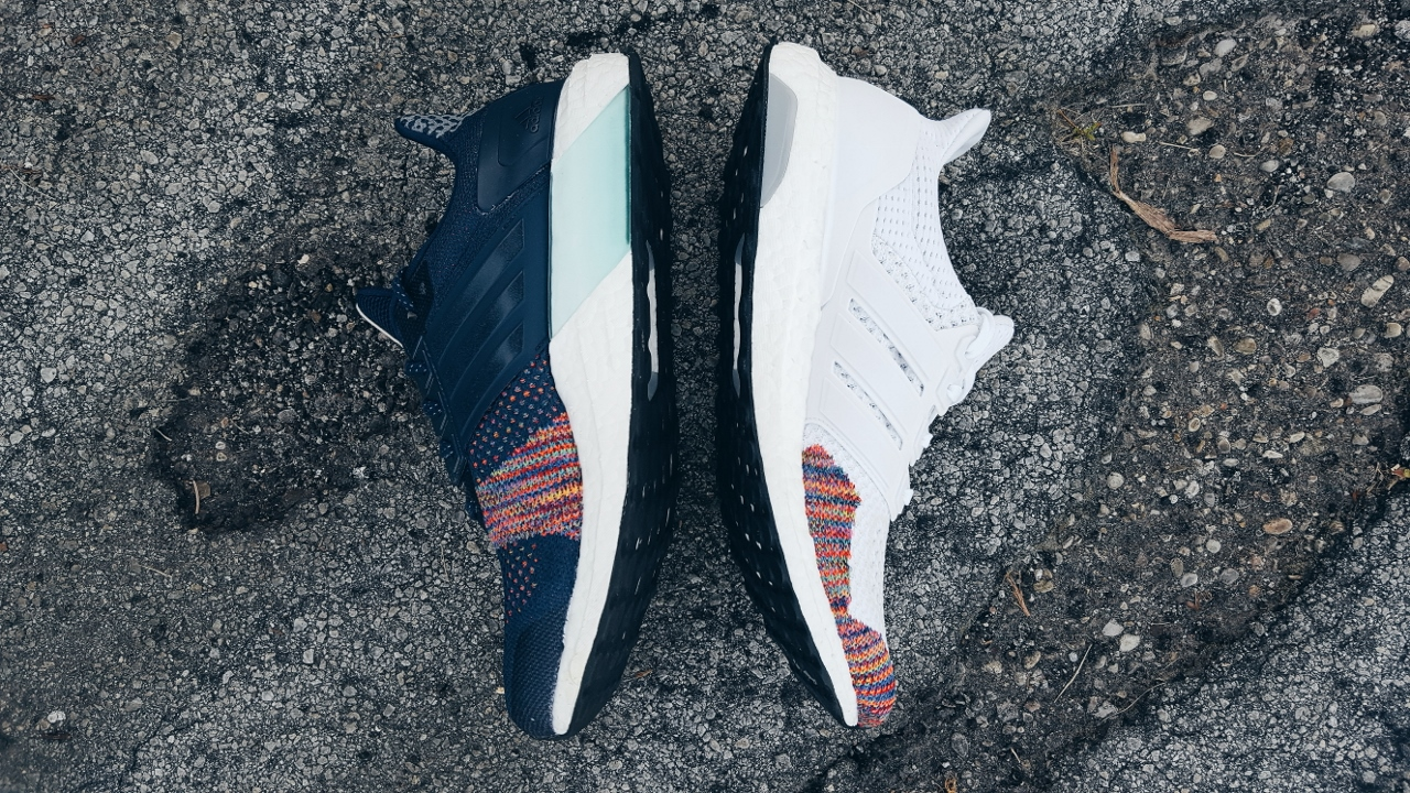 plus de photos efa5a d61f6 Test Shoot: The adidas UltraBOOST 2.0 Multicolor Rainbow ...