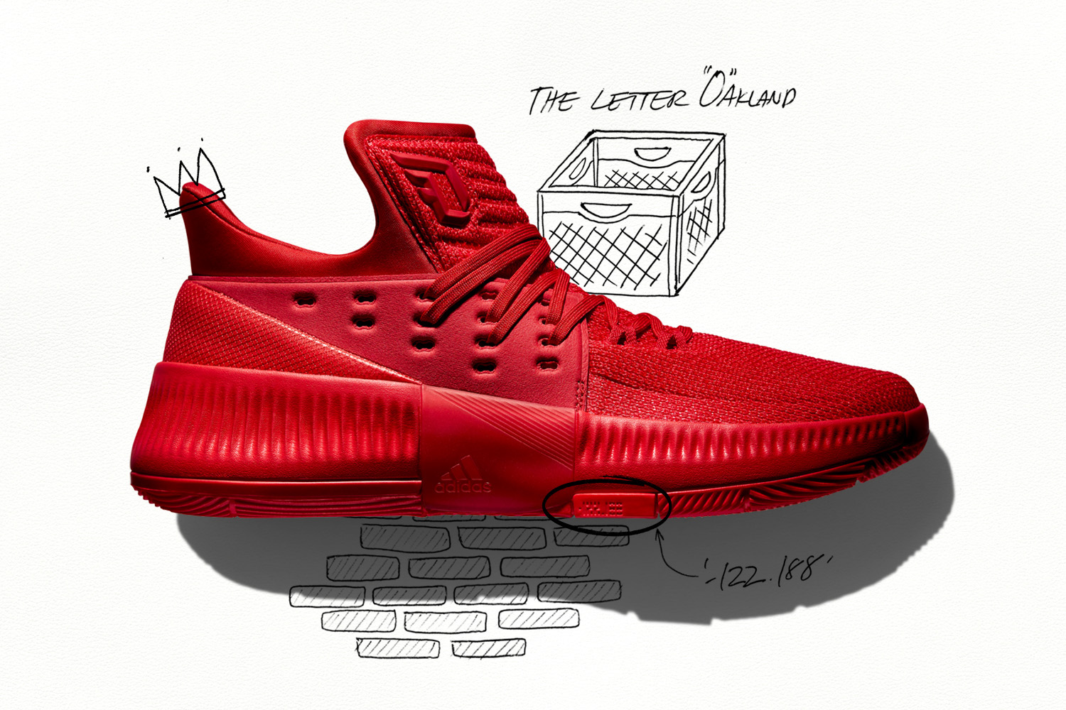 adidas dame 3 roots 1