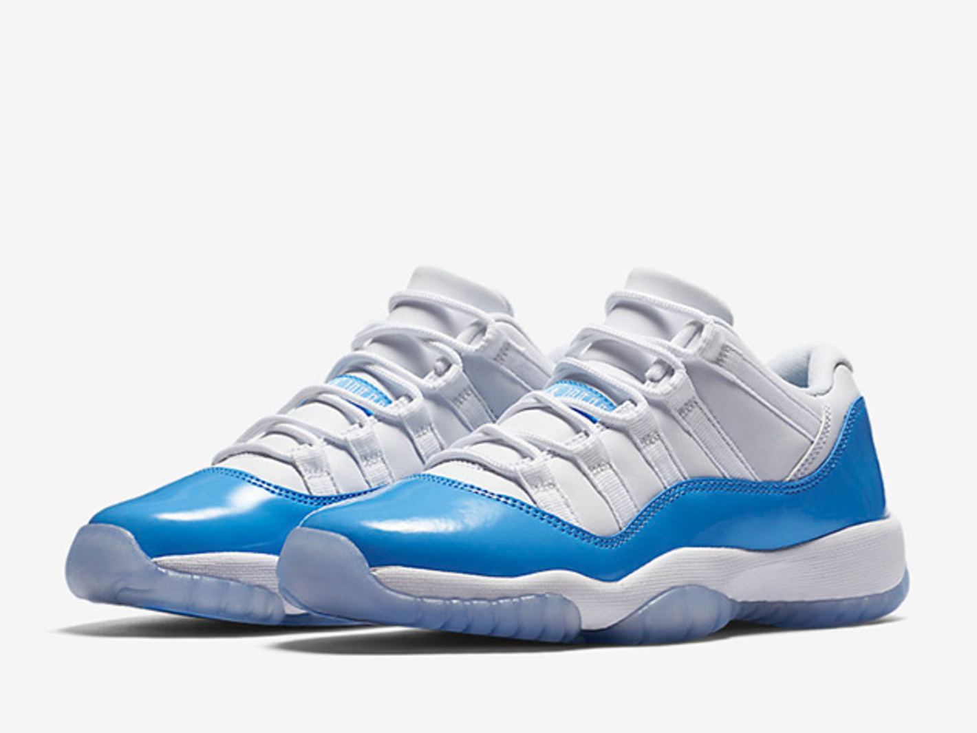 4432f36d4e253 Two Jordan 11 Retro Lows for 2017 - University Blue and Black ...