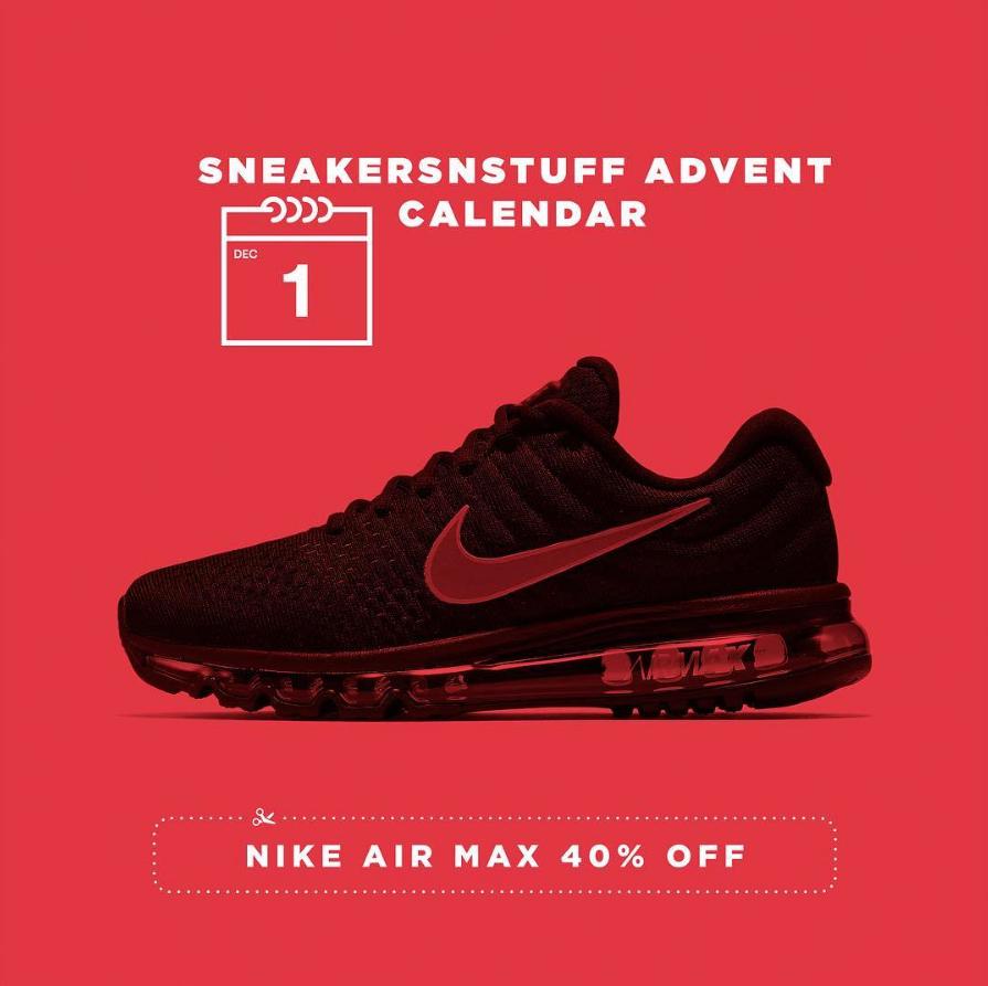 Deals: The Sneakersnstuff Advent Calendar is Live - 40% Off All ...