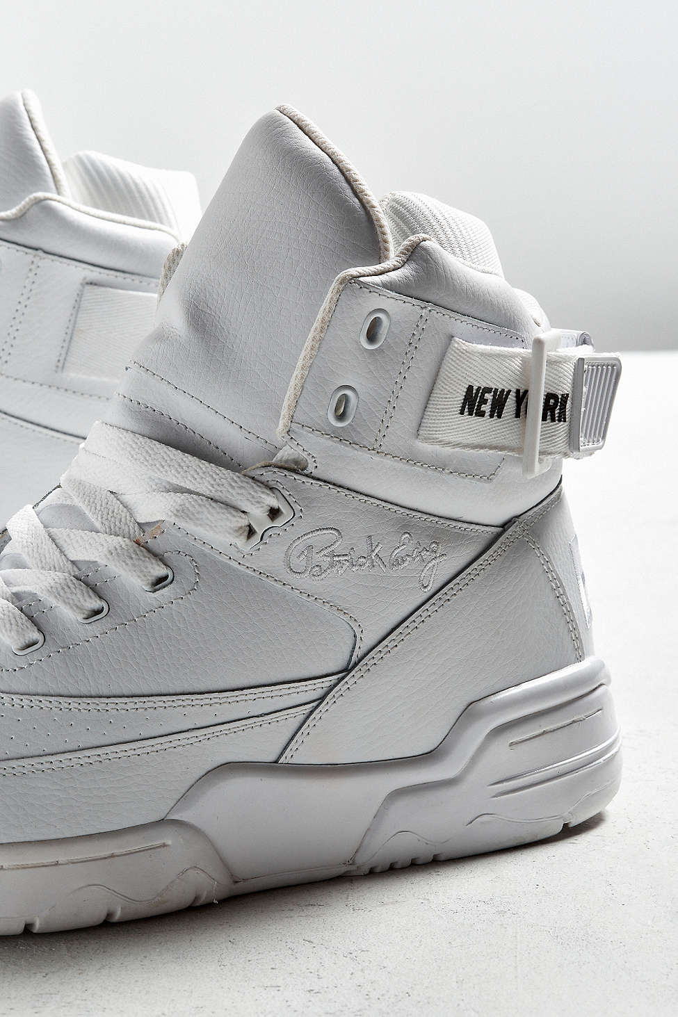 urban outfitters x ewing 33 hi NYC white black 1