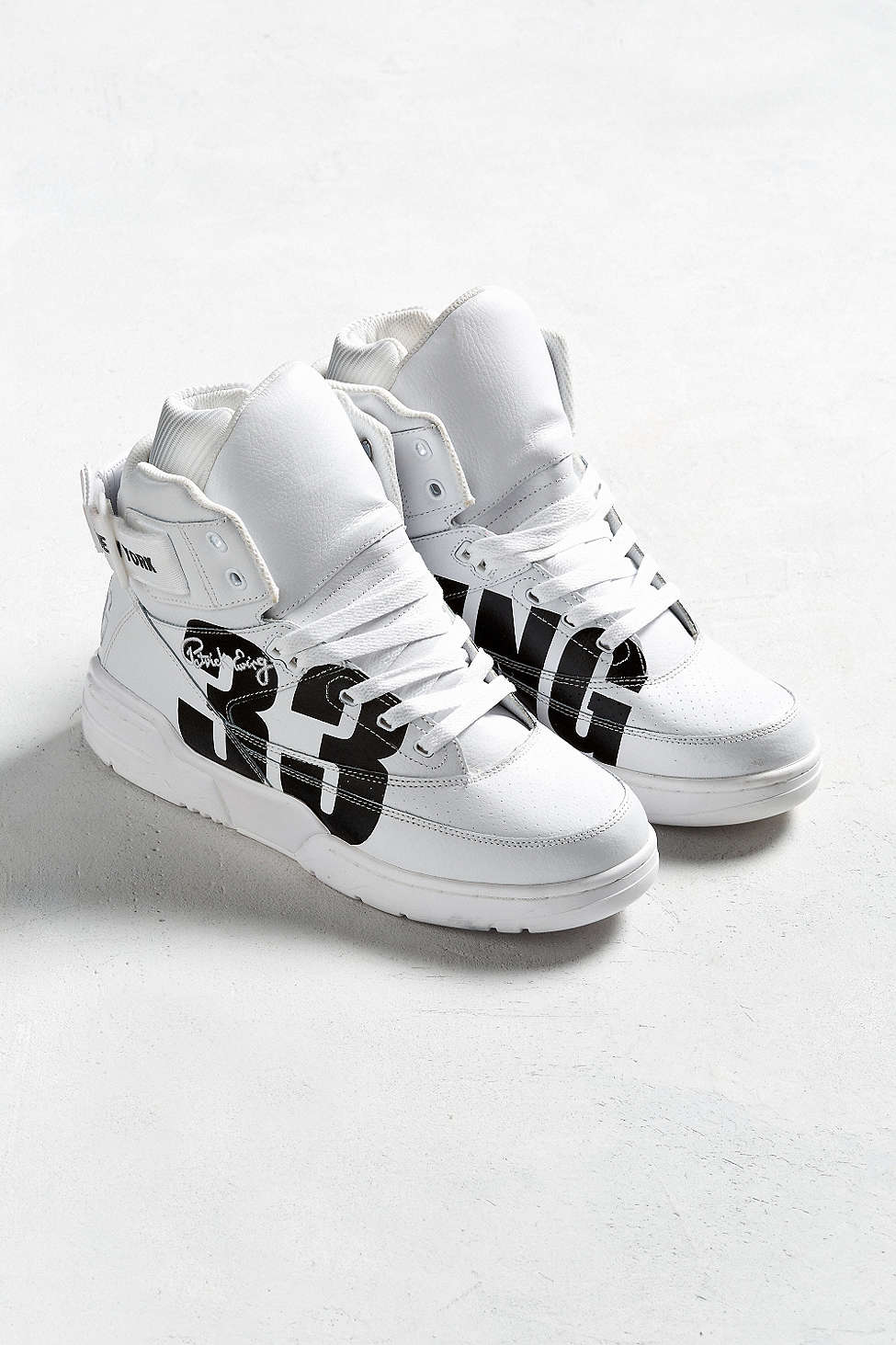 urban outfitters x ewing 33 hi NYC white black 3