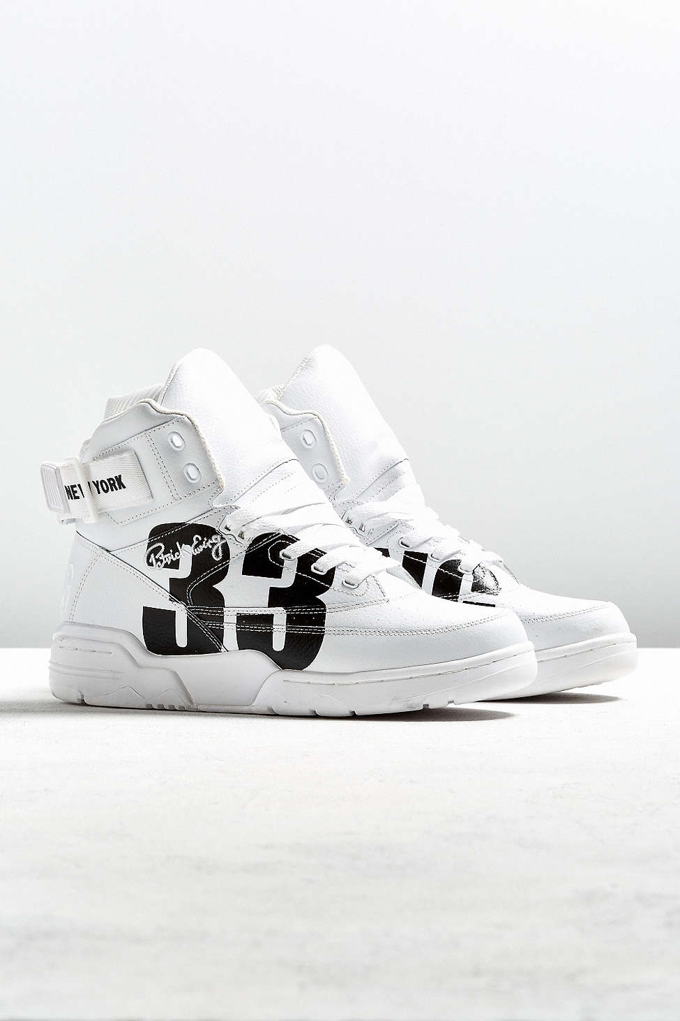 urban outfitters x ewing 33 hi NYC white black 4