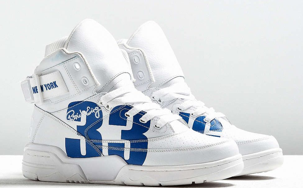 urban outfitters x ewing 33 hi NYC white royal 2