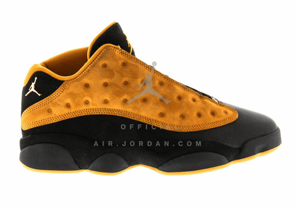 hot sales cffd4 e7939 Get a First Look at the Air Jordan 13 Retro Low 'Chutney ...