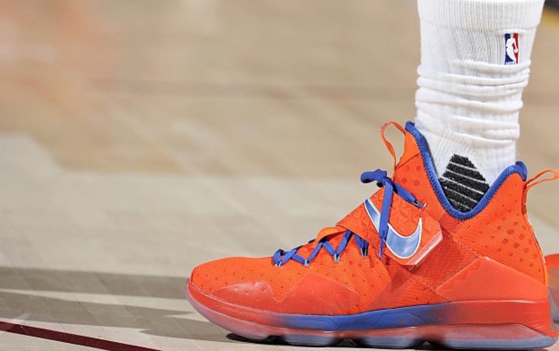 online store 4904f 1c22b LeBron James Debuts Nike LeBron 14