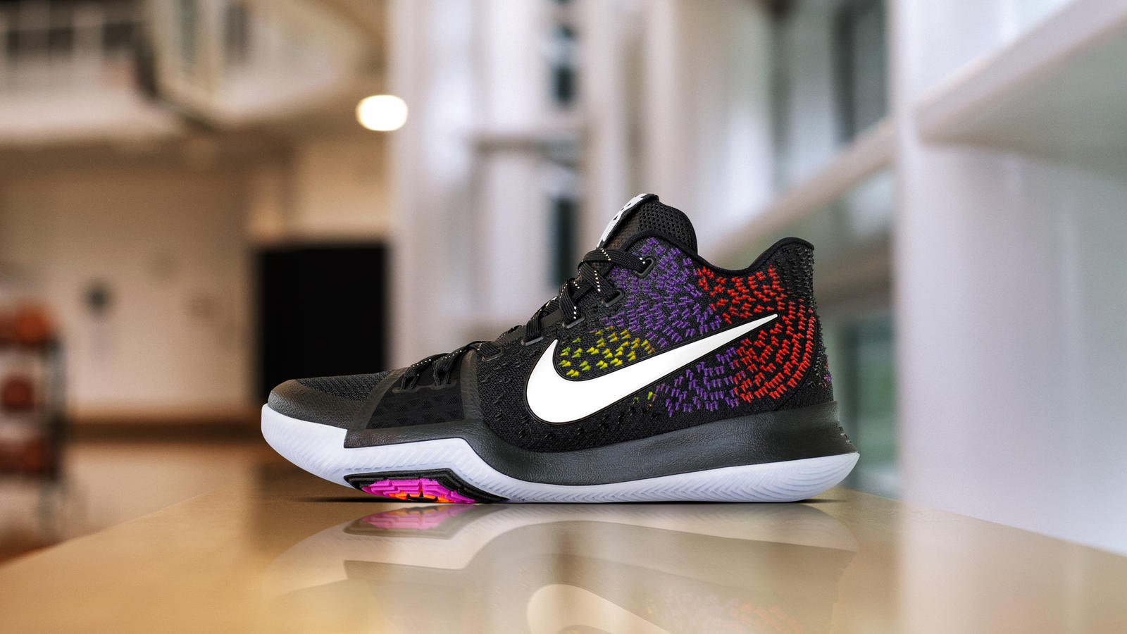 Kyrie Irving Receives a Colorful Nike Kyrie 3 PE